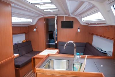 Yacht Innenansicht