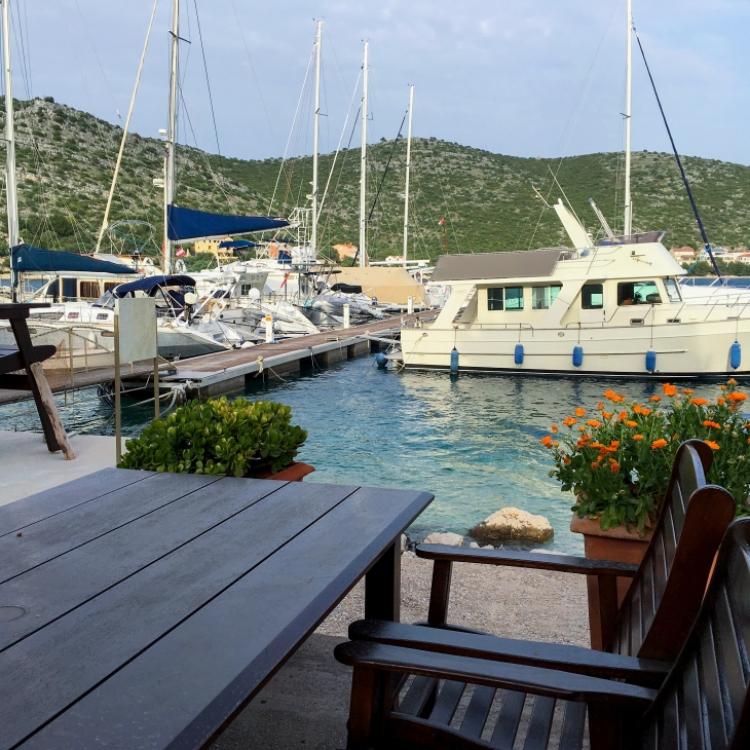 Insel Lastovo Restaurant Porto Rosso
